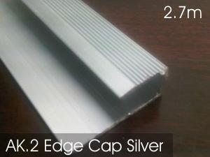 AK2. Edge Cap Silver